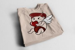 Baby Cupid Sublimation Design Love Product Image 3