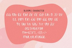 Blooms - Quirky Font Product Image 4