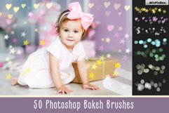 50 Bokeh Photoshop Brushes Product Image 1