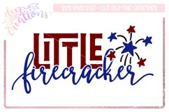Little Firecracker - 4th of July Design Product Image 1