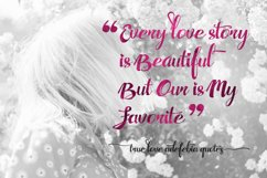 Adefebia Wedding Script Font Product Image 6
