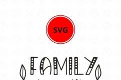 Family is a gift that lasts forever svg Family Quote clipart Product Image 5