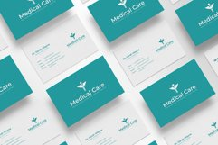 Medical Minimal Business Card Template Product Image 6