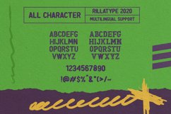 Ravager - Organic Typeface Family Product Image 4