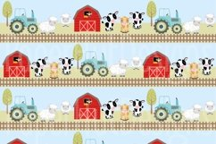 Farm Animals Clipart and Digital Papers Product Image 5