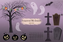 The Fun of Halloween Scene Creator Set - 112 Elements Product Image 5