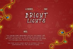 Bright Lights // A Merry Christmas Font Product Image 2