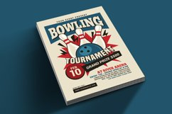 Bowling Tournament Flyer Product Image 2