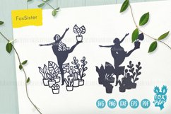 House Plants svg, Gardening Vector Cut File, plants svg Product Image 3