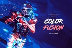 Color Fusion Photoshop Actions Product Image 1