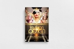 Fashion Design Flyer Template Product Image 1