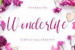 Wonderlife - Handwritten Font Product Image 1