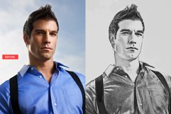 Pencil Sketch Photoshop Action Product Image 5