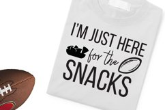 I'm just here for the snacks SVG, PNG, DXF Product Image 2