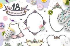 Mermaid Princess - Cute Summer Girl Clipart Product Image 2