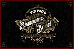Shampoerna Betoel Layered Vintage Font Product Image 1