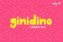 Ginidino Font Product Image 1