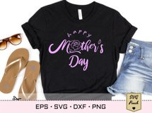 Happy Mother's Day SVG lettering Product Image 3