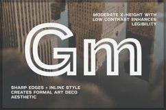 Provoke Trendy Inline Typeface Product Image 4