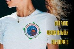 Retro Surf Logo Templates Product Image 3