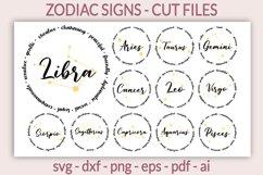 Zodiac SVG - Horoscope SVG - Astrology SVG, Zodiac signs SVG Product Image 1