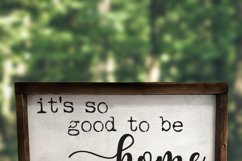 It's so Good to be Home SVG - Home Decor SVG Product Image 2