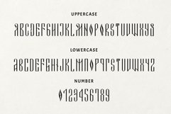 Novodevichi - russian letter font Product Image 4