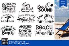 Beach Bound - Beach SVG and Cut Files for Crafters Product Image 1
