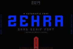 ZEHRA Modern Sans Serif Product Image 2