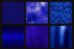 Blue foil glitter textures Product Image 3