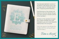 Foil Quill | Single Line | Sketch Mandala Monogram Alphabet Product Image 2