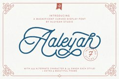 Aaleyah & Extras Product Image 1