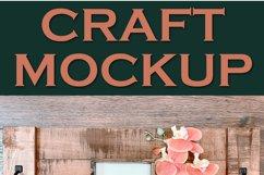 Mockup Square Sign Farm Style | JPEG Product Image 2