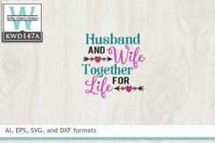 Wedding SVG - Husband And Wife Product Image 2
