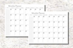 Summer Cahier Size Notebook Inserts Planners Product Image 3