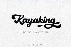 Kayaking SVG PNG EPS Product Image 1