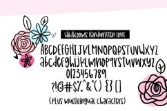 Wildblooms Handwritten Font Product Image 2