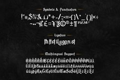 Archking - Blackletter Typeface Product Image 6