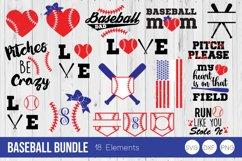 Baseball Bundle SVG Cut Files Product Image 1