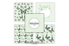 Mint Green Dreams Baby Paper Pack Fashion Illustration Product Image 2