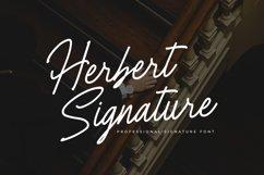 Herbert Signature Font Product Image 1