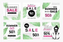 Summer Sale Social Media Templates Pack Product Image 2