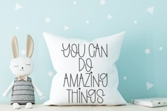 Something Pretty - A Cute Handlettered Font Product Image 2