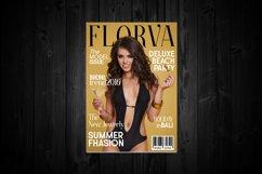 Web Font Florva Product Image 3
