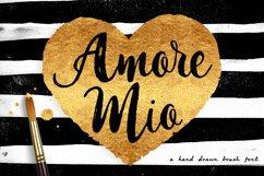 Amore Mio Brush Font Product Image 1