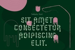 Sebatu modern font Product Image 2