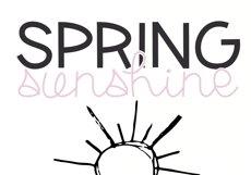 Spring Sunshine - A Serif & Script Font Duo Product Image 6