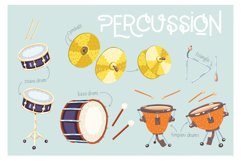 Orchestra! Set of vector musical instruments Product Image 4