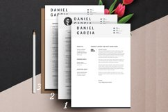 Clean Editable Resume Cv Template in Word Apple Pages Format Product Image 4