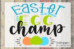Easter svg,easter egg champ svg, Easter design svg Product Image 2